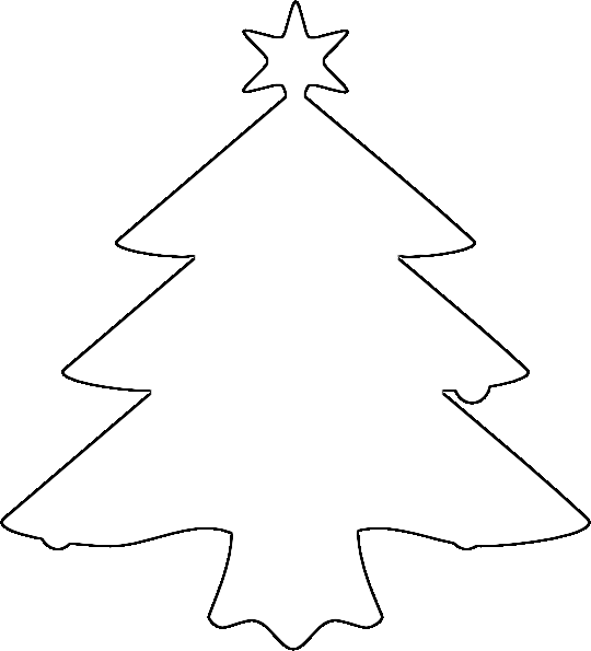 10 Christmas Tree Outline Clip Clipart Panda Free Clipart Images - Christmas Tree Outlines