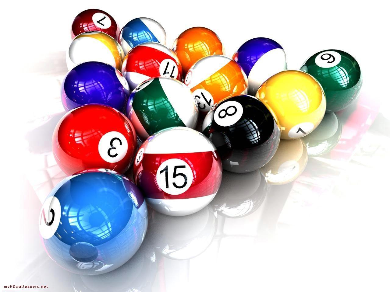 3d billiard balls | clipart panda - free clipart images