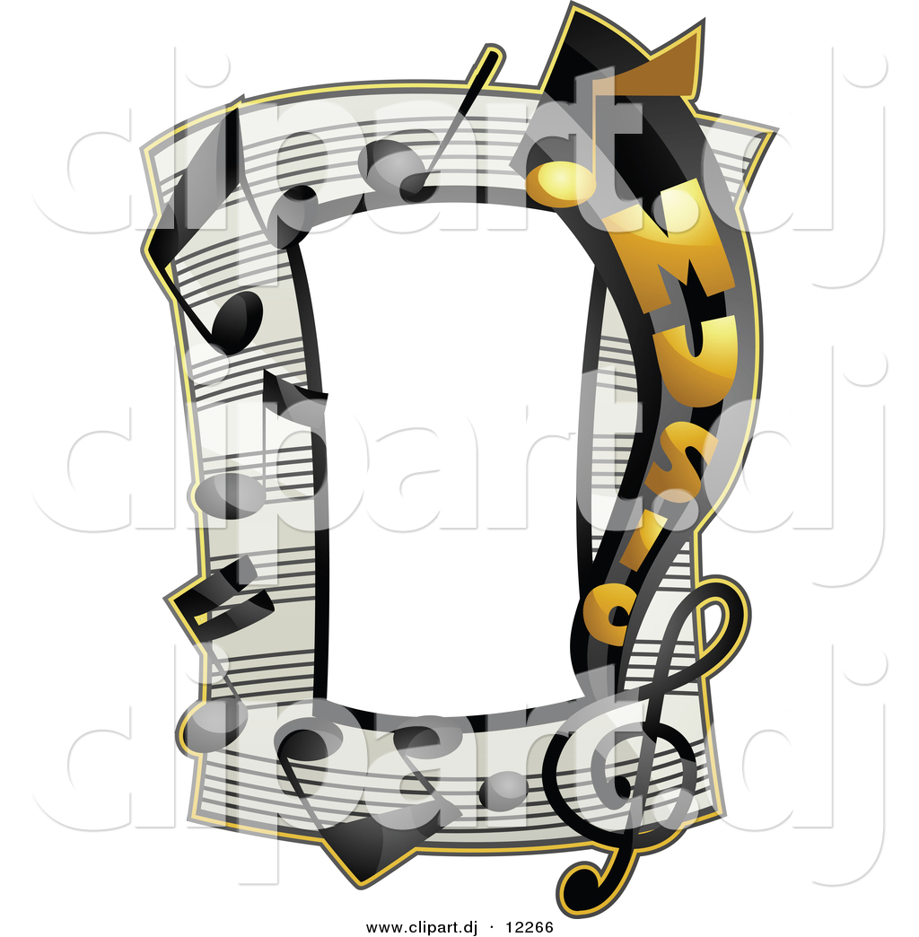 a Music Notes Frame Border | Clipart Panda - Free Clipart Images