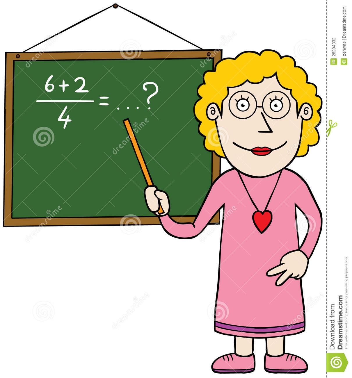 a teacher is teaching math. | clipart panda - free clipart images