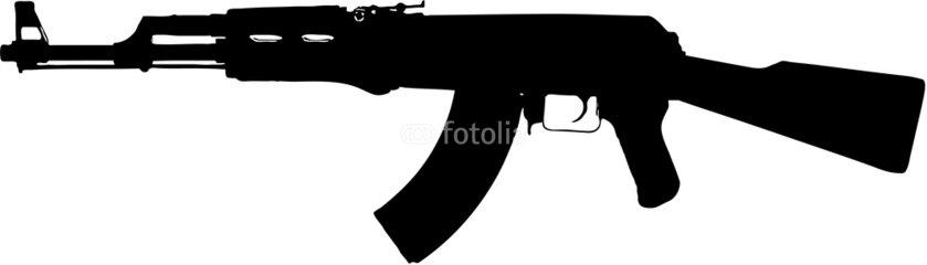 ak 47 assault rifle clip art clipart panda free clipart images rh clipartpanda com AK-47 Silhouette AK-47 Silhouette