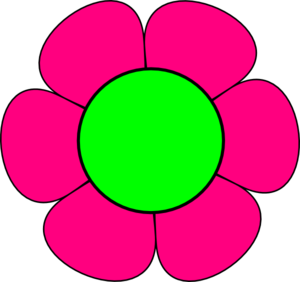 and pink flower clip art clipart panda free clipart images rh clipartpanda com hot pink flower clipart pink flower clipart free
