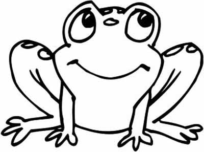 baby frog coloring pages | Clipart Panda - Free Clipart Images