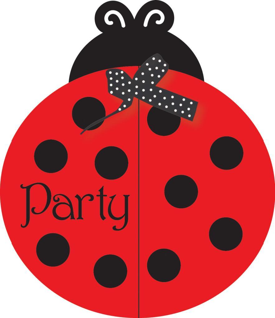Baby Shower Invites - Ladybug | Clipart Panda - Free Clipart Images