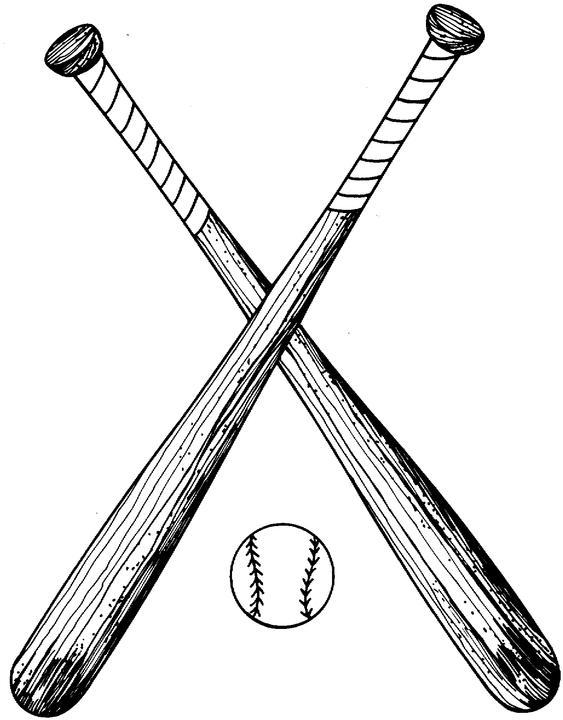 baseball bat crossed daway dabrowa co rh daway dabrowa co Baseball Bat Logo Baseball Bats Clip Art Brown