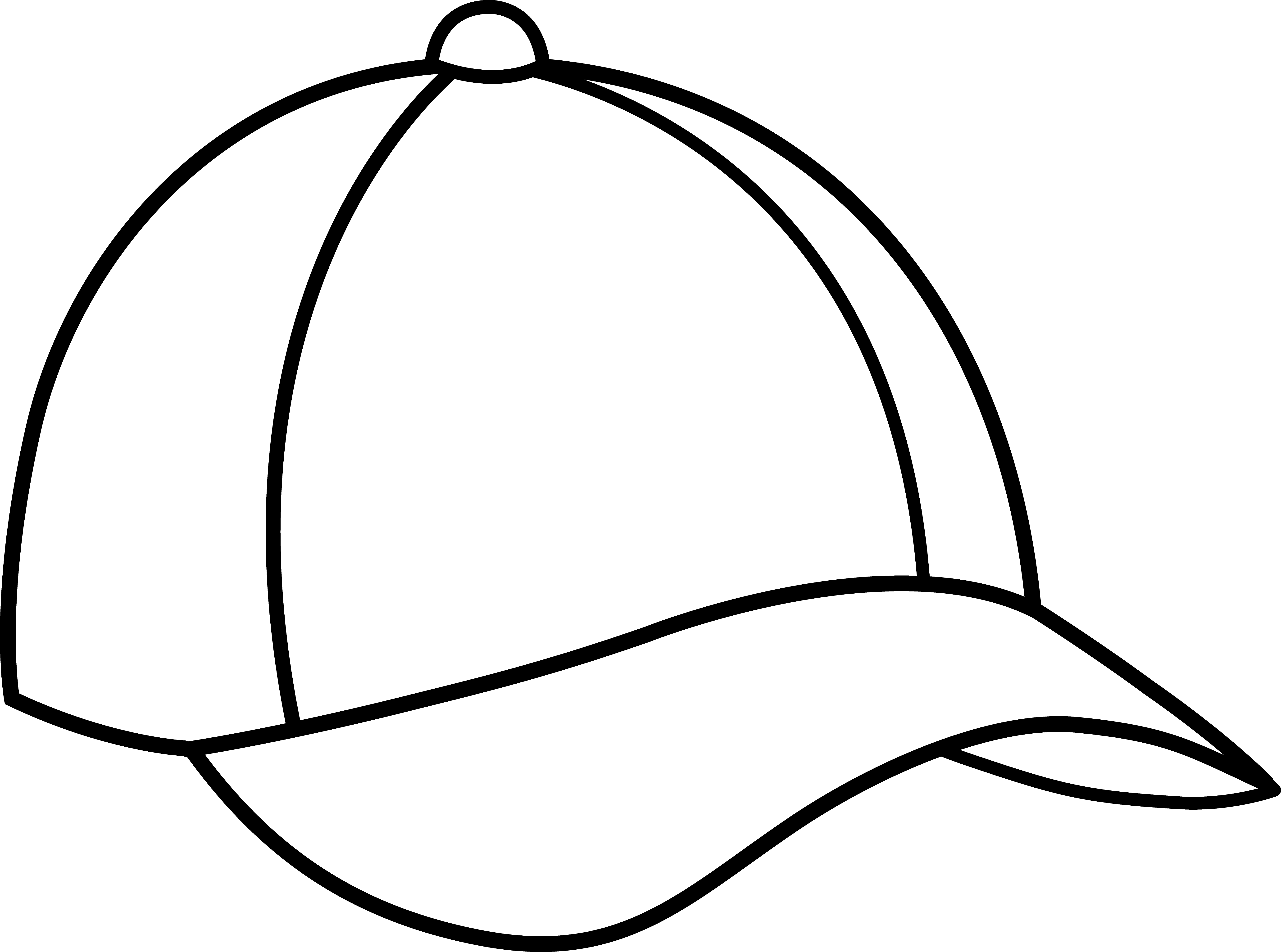 baseball hat template clipart panda free clipart images