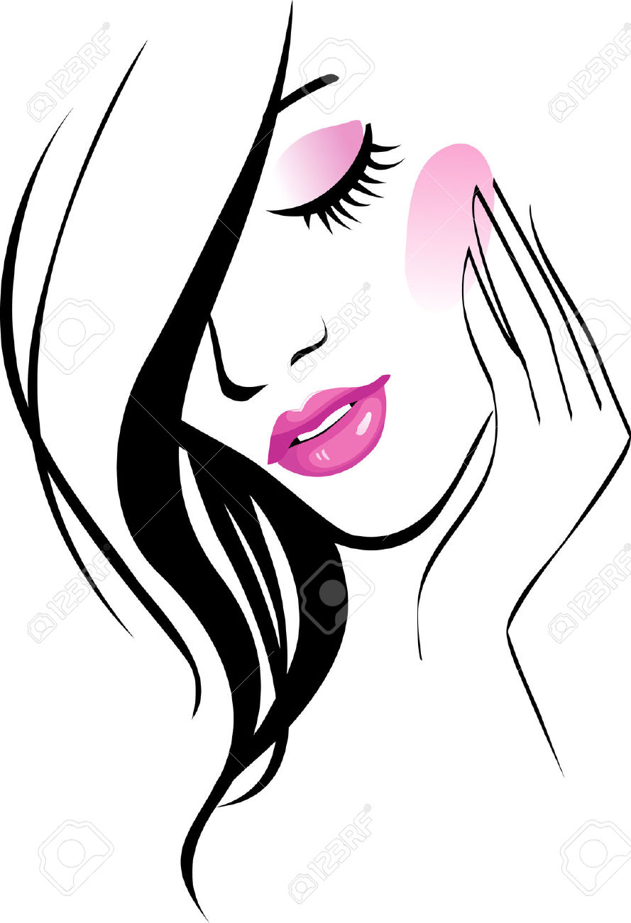 Beauty Clipart Salon Female Icon