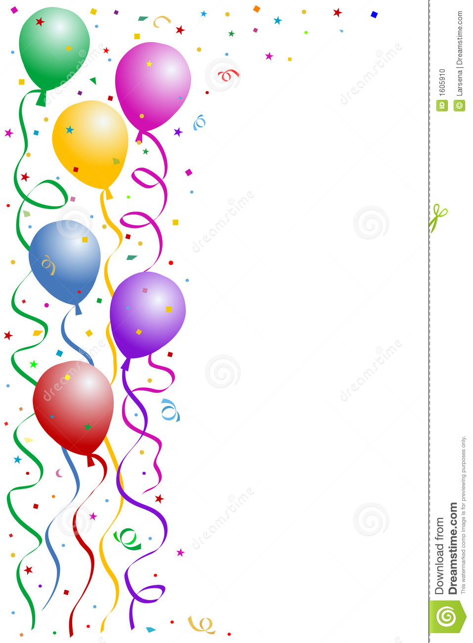Birthday party frame Clipart Panda Free Clipart Images