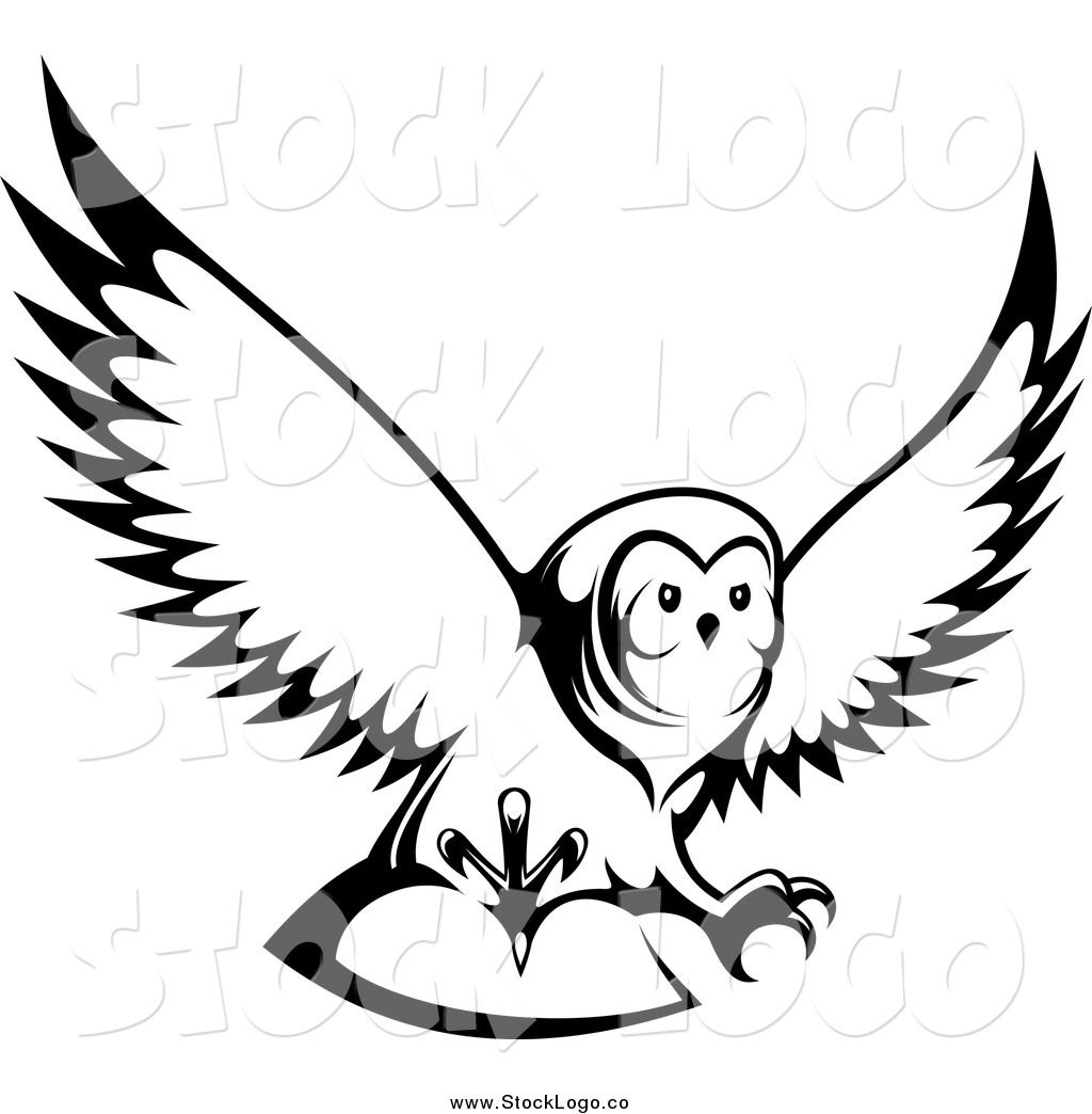 black and white flying owl clipart panda free clipart images rh clipartpanda com owl clipart black and white vector baby owl clipart black and white