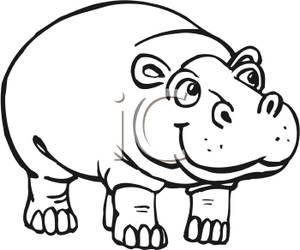 black and white hippo clip art clipart panda free clipart images rh clipartpanda com hippopotamus clipart free christmas hippopotamus clipart