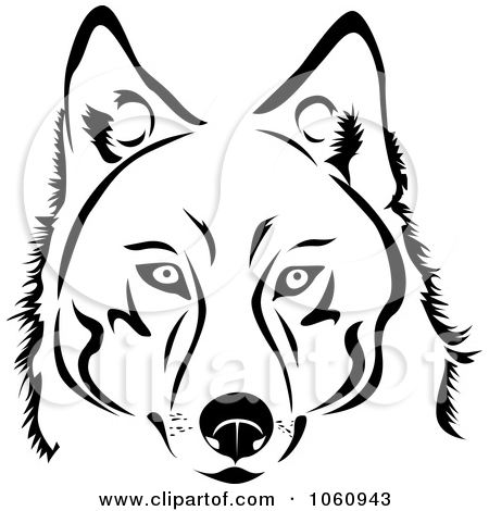 Black And White Husky Dog Face Clipart Panda Free Clipart Images