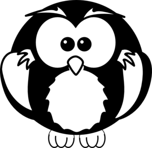 black and white owl clip art clipart panda free clipart images rh clipartpanda com owl clipart black and white free owl images clipart black and white