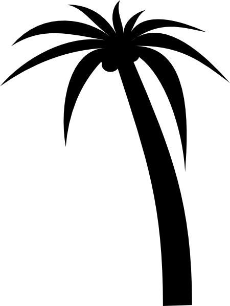 black and white palm tree clipart panda free clipart images rh clipartpanda com