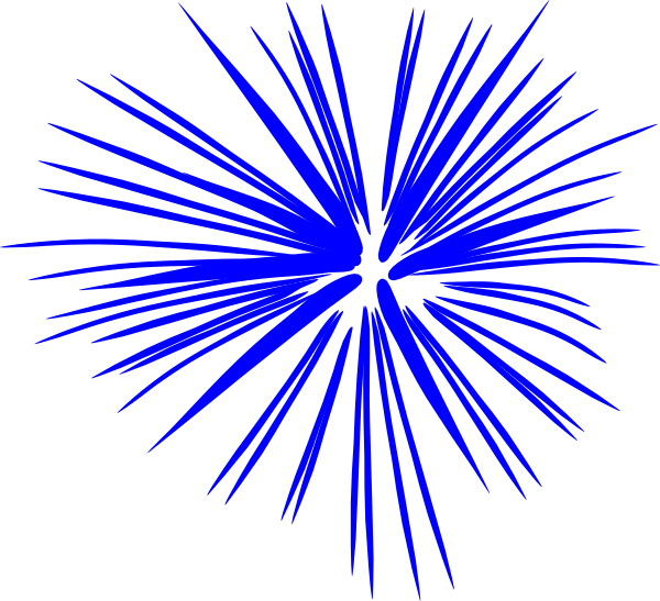 blue fireworks clip art clipart panda free clipart images rh clipartpanda com fireworks clipart black and white clipart of fireworks