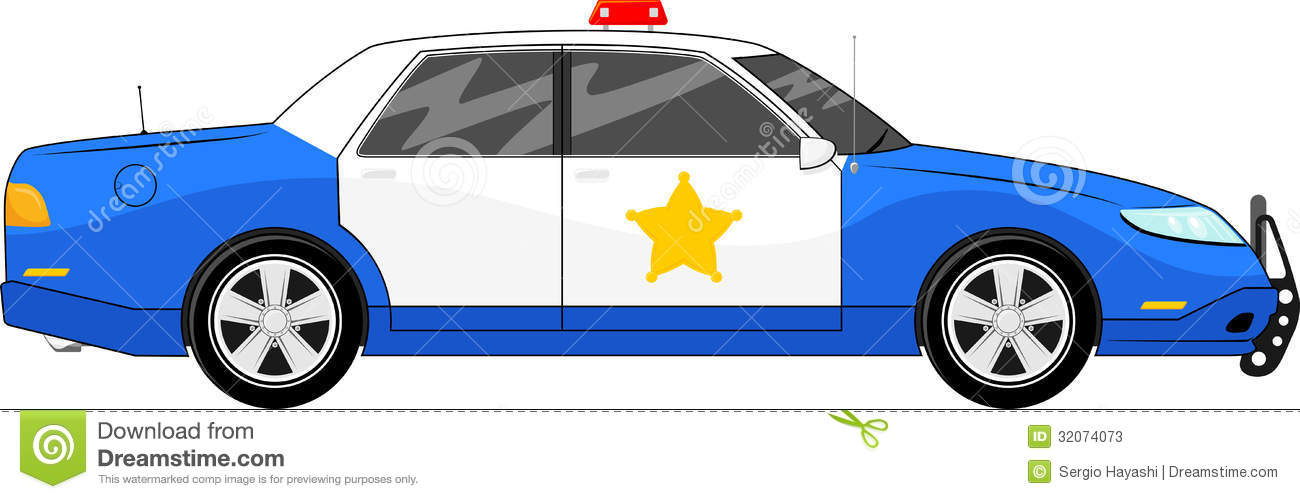 Blue Police Car Side View Clipart Panda Free Clipart Images