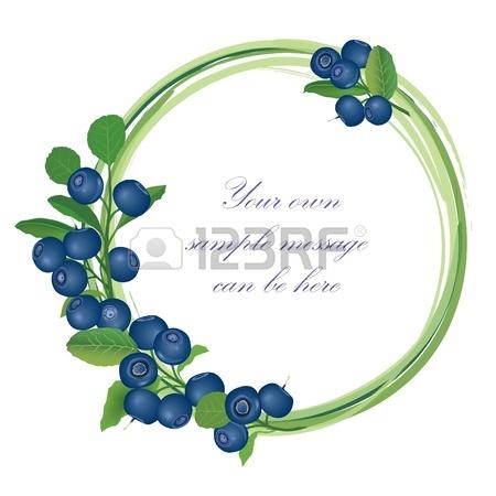 Blueberry Bush Clipart