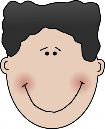 boy face clip art clipart panda free clipart images rh clipartpanda com