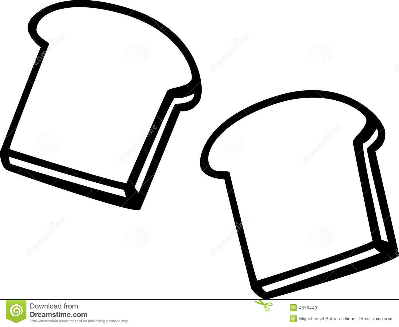 Bread Slice Drawing Slice of Bread...1300