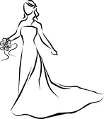 bridal dress clip art clqn clipart panda free clipart images rh clipartpanda com wedding dress clipart vector wedding dress clip art free