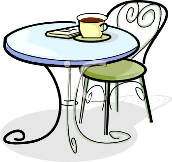 Cafe Table And Chairs Clipart Clipart Panda Free Clipart Images