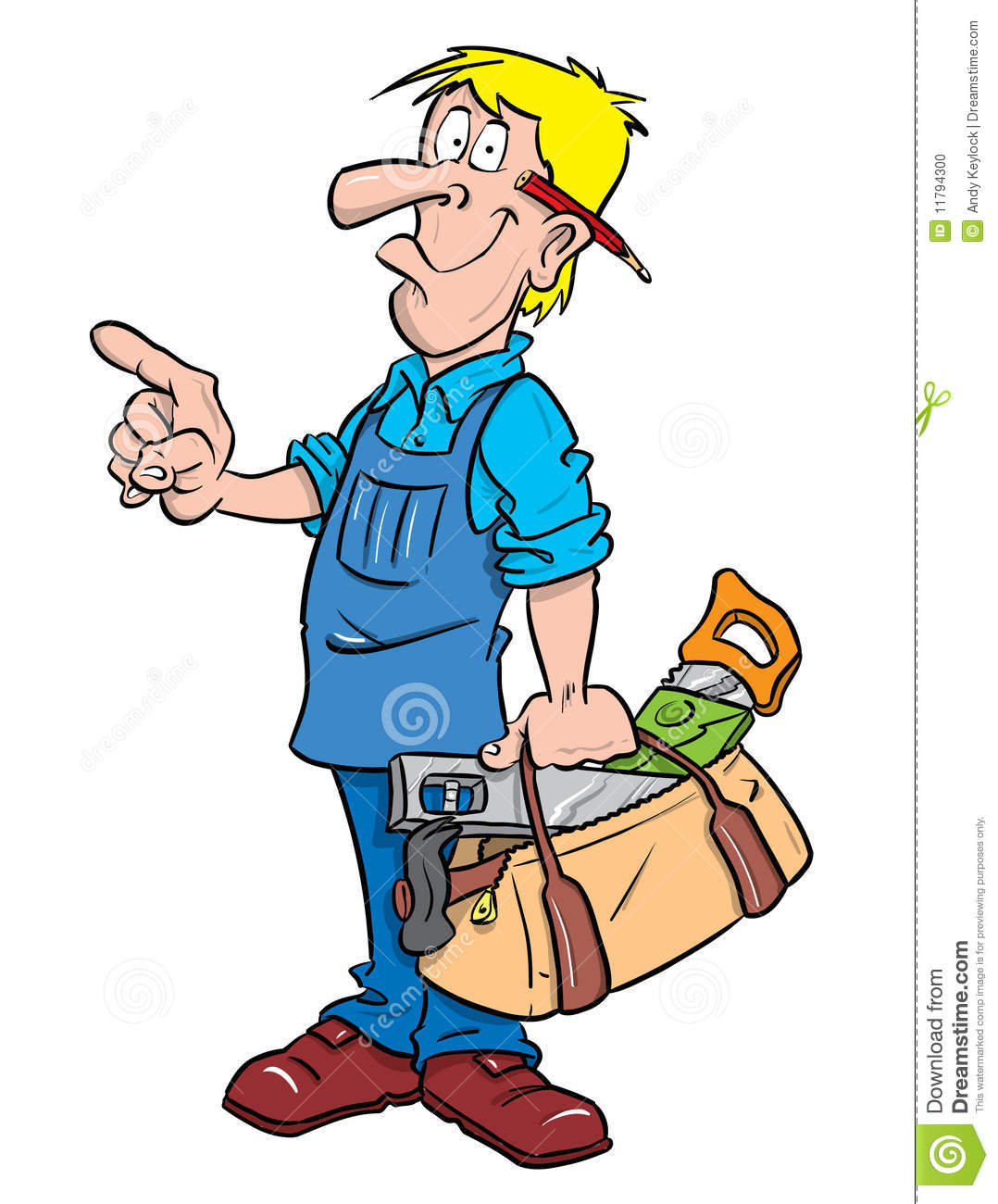 Carpenter or Handyman | Clipart Panda - Free Clipart Images
