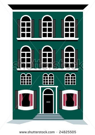 Apartment Clipart Cartoon