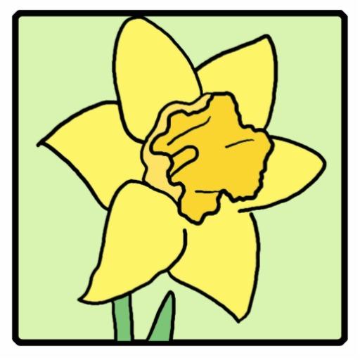 Cartoon Clip Art Daffodil | Clipart Panda - Free Clipart Images