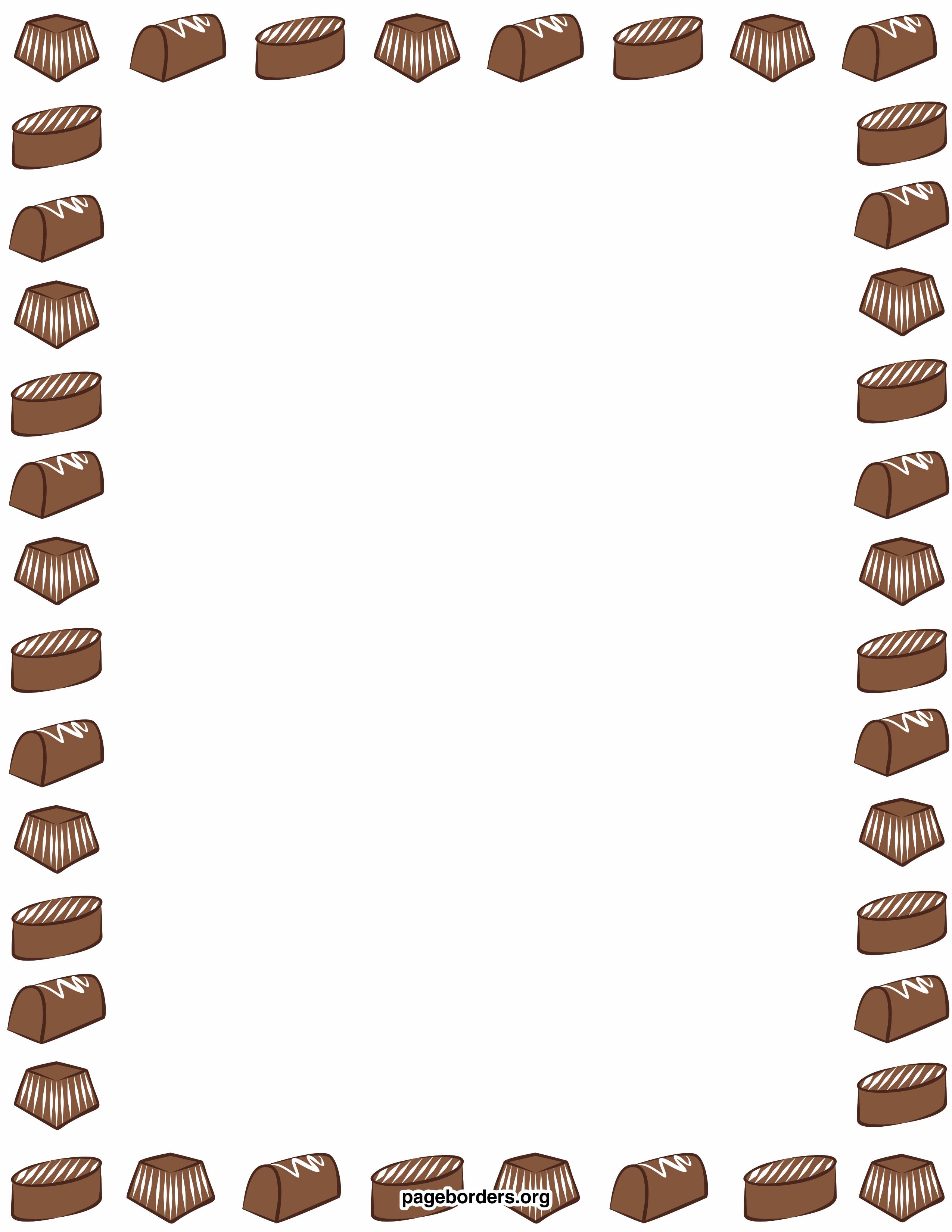 chocolate border clipart panda free clipart images rh clipartpanda com Peanut Butter Cup Clip Art Clip Art Alcoholic Beverages