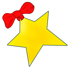 christmas star with red clipart panda free clipart images rh clipartpanda com christmas star clipart christmas star clip art