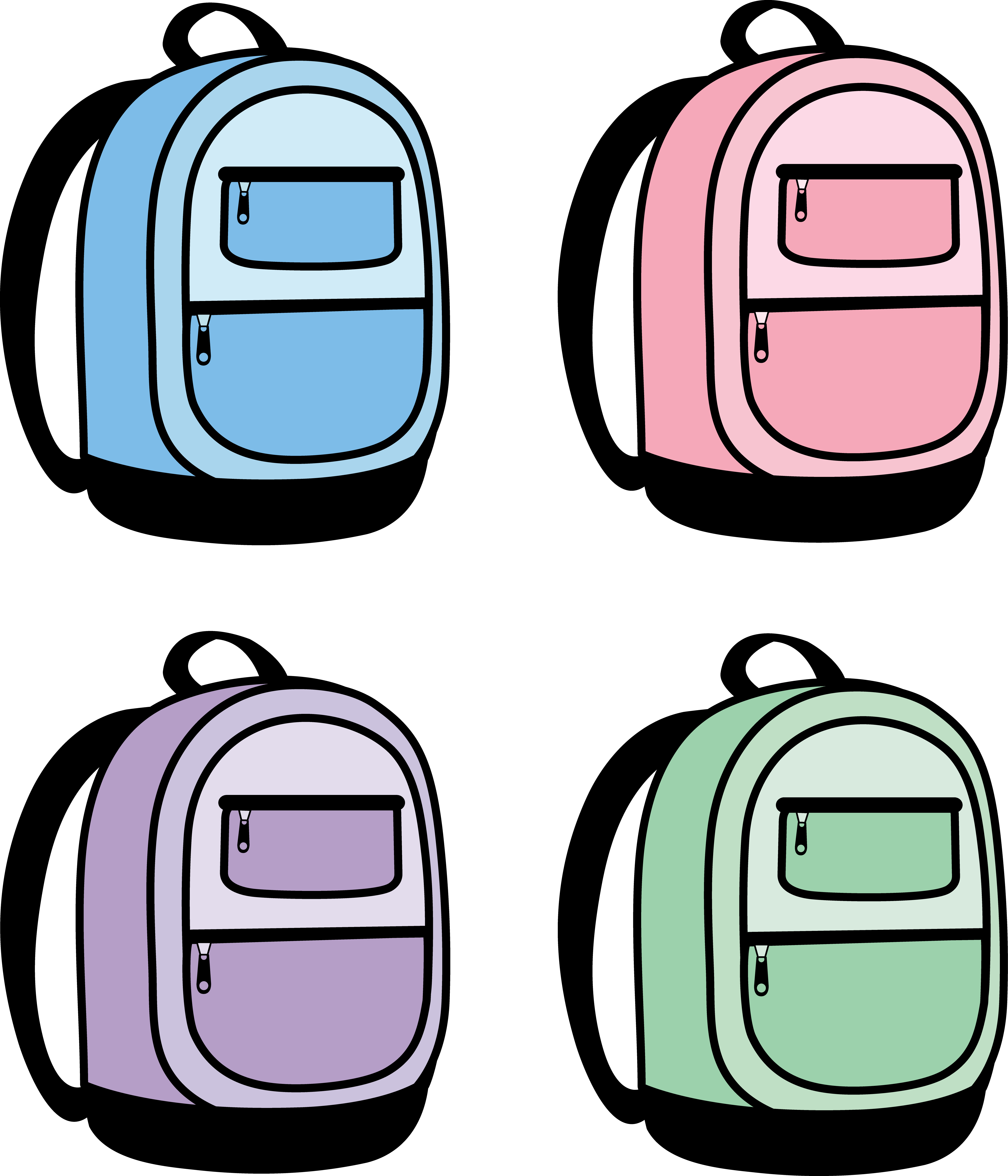 clip art backpack viewing clipart panda free clipart images rh clipartpanda com  backpack clipart images
