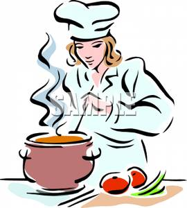 clip art image a female chef clipart panda free clipart images rh clipartpanda com clip art cooking utensils clip art cooking borders