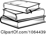 Clipart Stack Of Books In