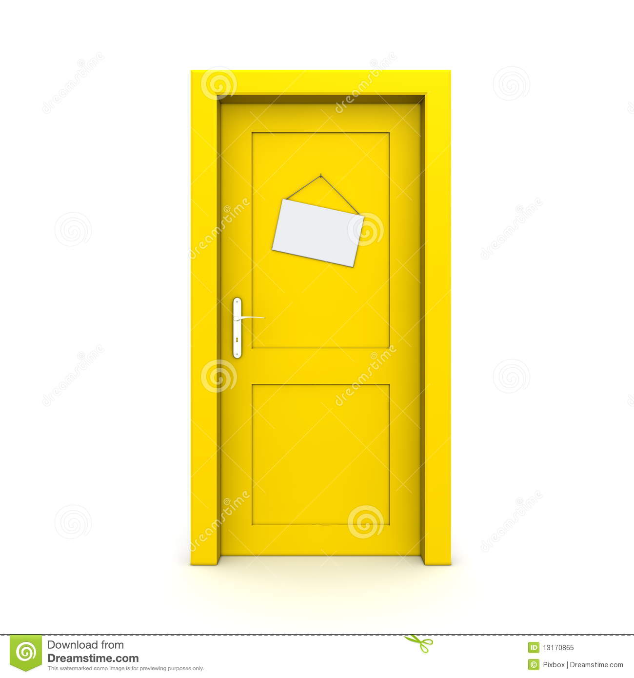 Clipart Info  sc 1 st  Clipart Panda & Closed Yellow Door With Dummy | Clipart Panda - Free Clipart Images