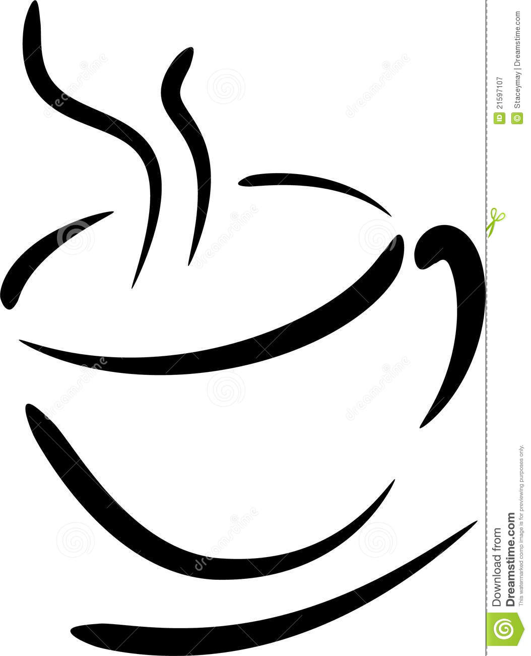 Coffee cup illustration. Clipart panda free images