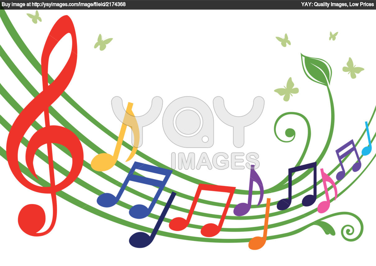 Colorful Musical Notes Clipart Panda Free Clipart Images