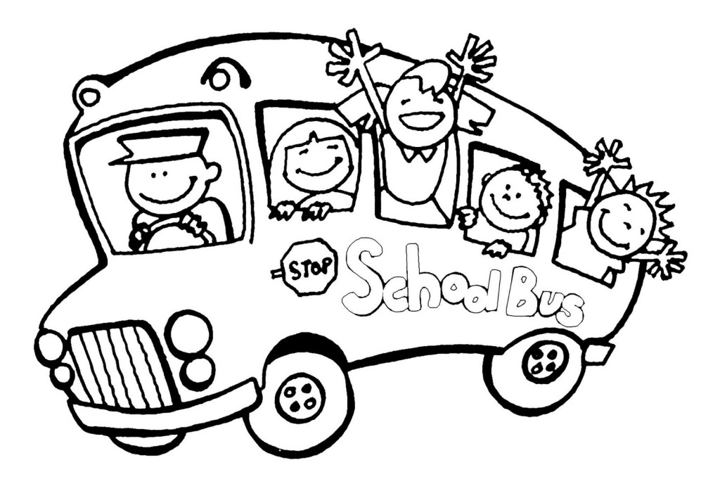 Coloring Pages School Bus | Clipart Panda - Free Clipart Images