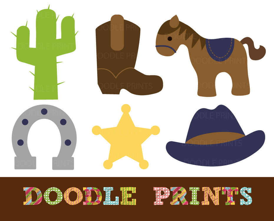 Cowboy Western Clipart By Clipart Panda Free Clipart Images - Western clipart