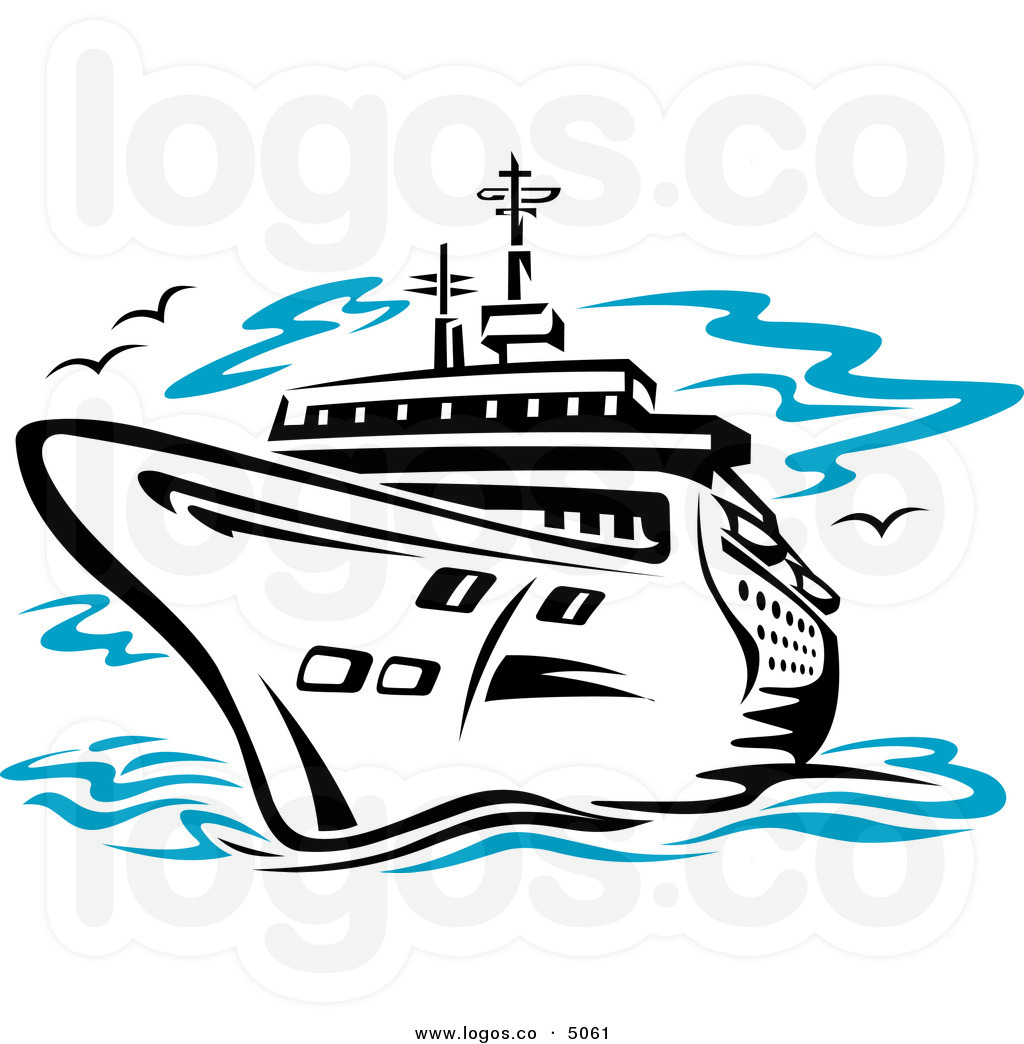 cruise ship at sea travel logo clipart panda free clipart images rh clipartpanda com cruise ship clip art free download Carnival Cruise Ship Clip Art Free