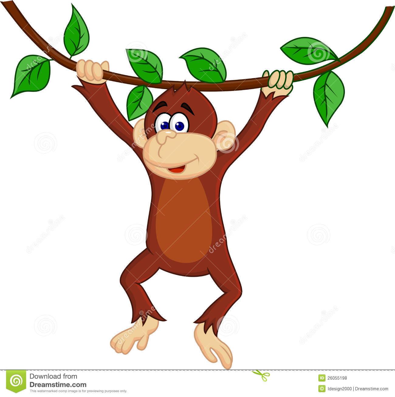 Free animations swinging on a vine