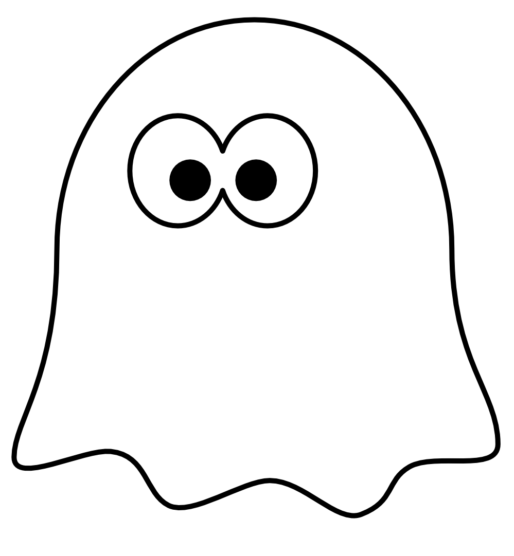 cute ghost outline clipart panda free clipart images rh clipartpanda com cute ghost clipart black and white cute ghost clipart images