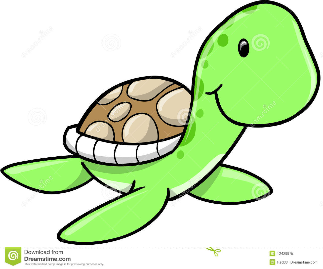 Cute sea turtle royalty free clipart panda free clipart images clipart info voltagebd Choice Image