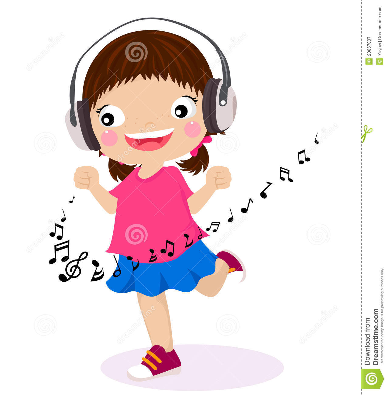 dancing girl listen music in clipart panda free clipart images rh clipartpanda com Red Pony Beads Clip Art Reindeer Face Clip Art