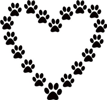 dog paw print clip art free clipart panda free clipart images rh clipartpanda com paw clipart outline paw clipart outline