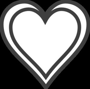 double heart outline clip art clipart panda free clipart images rh clipartpanda com Valentine Heart Clip Art double heart clipart black and white