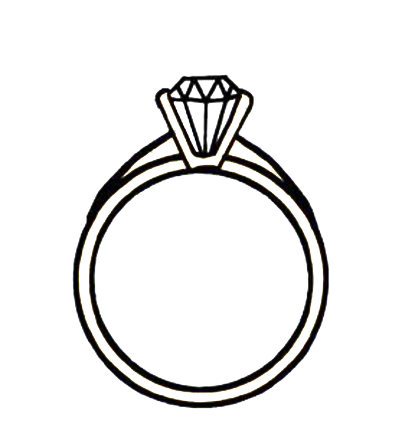 Download this Diamond Ring | Clipart Panda - Free Clipart Images