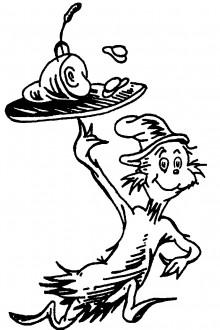 Dr Seuss Coloring Printable | Clipart Panda - Free Clipart Images