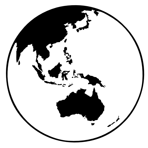 Earth globe oceania clip art clipart panda free clipart images clipart info gumiabroncs Image collections