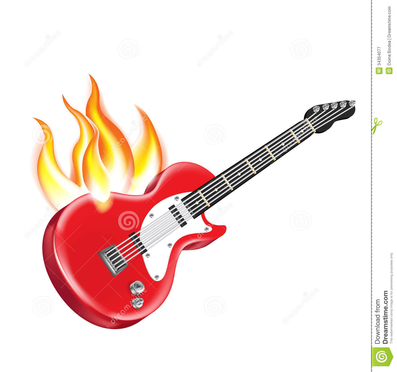 electric guitar on fire clipart panda free clipart images rh clipartpanda com red electric guitar clip art red electric guitar clip art