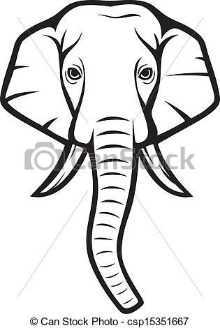 elephant head indian clipart panda free clipart images rh clipartpanda com elephant head images clip art elephant head clipart