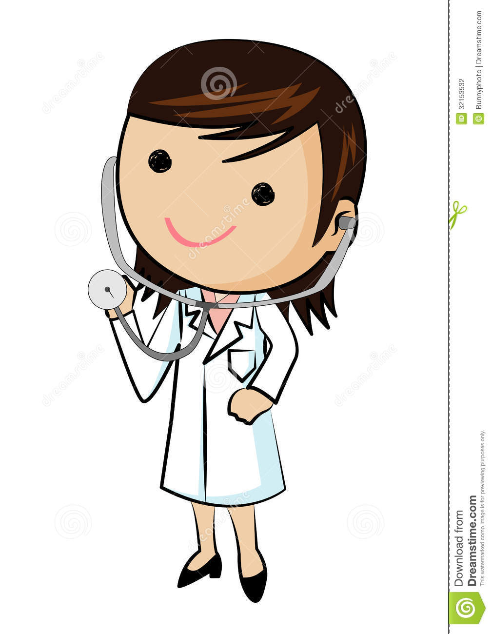 female doctor wearing   clipart panda - free clipart images